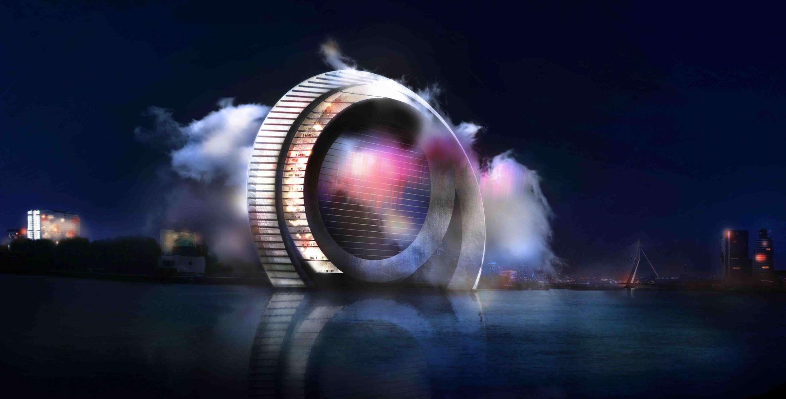 Ontwerp: Windwheel Corp / DoepelStrijkers, Rotterdam